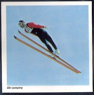 Nabisco-Action Shots Of Olympic Sports- Ski Jumping
