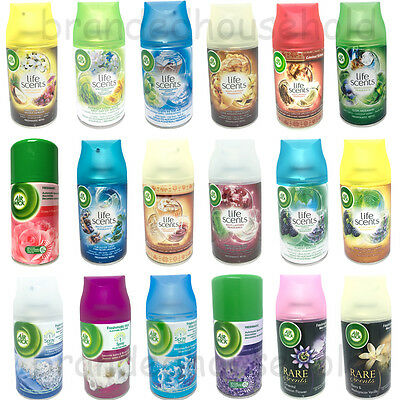 6 X Air Wick Airwick Freshmatic Automatic Refills Spray 250Ml Choose Scent