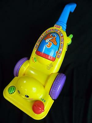 Fisher Price Laugh & Learn Learning Vacuum Cleaner Musical Toddler Baby Toy