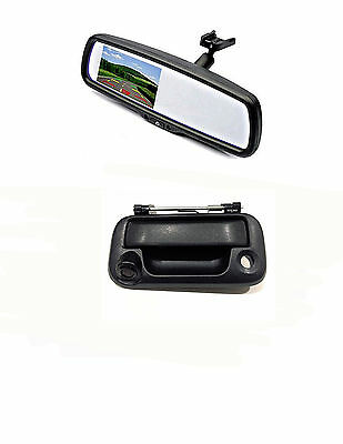 "Tailgate Backup Camera & 4.3"" Mirror Monitor for 2004-2016 Ford F150/250/350/450"