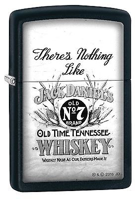Zippo Windproof Jack Daniel's Whiskey, Old No. 7 Lighter, 29293, New In Box