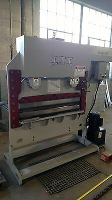 "Iroquois 100 Ton 48"" Press Brake Iron Worker Excellent!!!! Shipping"