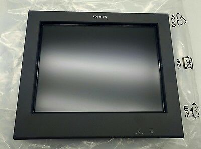 """TOSHIBA IBM 4820-2LG 12"""" LED Touch Display SurePoint POS Touch Screen"""