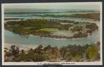 View from Razorback, Tweed Heads, N.S.W., No. 48, Murray Views coloured postcard