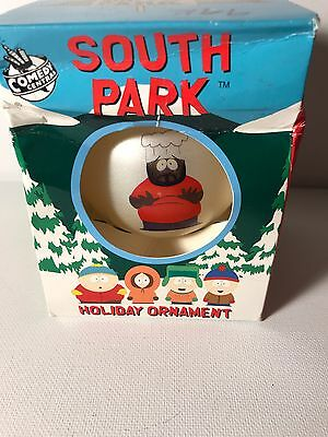 South Park Holiday Round Ornament 1998 Comedy Central CHEF