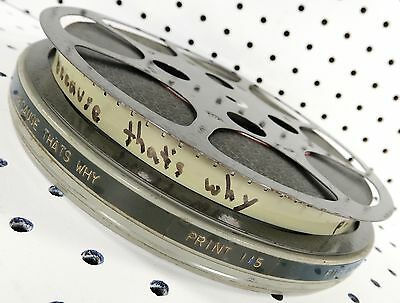 16mm Film: Because, That's Why 1967 Sedelmaier 13m 33s B/W Sound VIDEO Eval