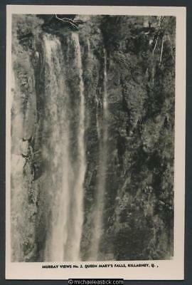 Queen Mary's Falls, Killarney, QLD, No. 2, Murray Views postcard