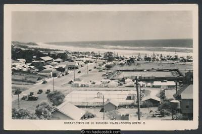 Burleigh Heads looking north, QLD, No. 26, Murray Views postcard