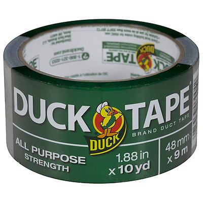 "Duck All-Purpose Duct Tape, 1.88"" x 10 Yards 1 ea"