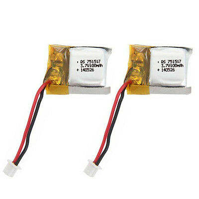 3.7V 100mAh Spare Battery for RC Cheerson CX-10 Quadcopter Healthy