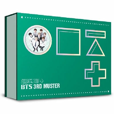 BTS 3RD MUSTER DVD [ARMY.ZIP+] 3 DISC+112p Photo Book+Story Book+1p Card K-POP