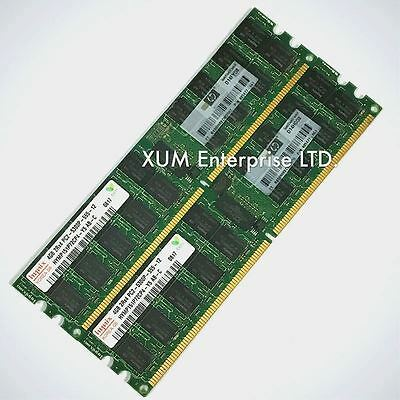 16GB (4 x 4GB) PC2-5300P DDR2 667Mhz Server Memory ECC Registered RAM