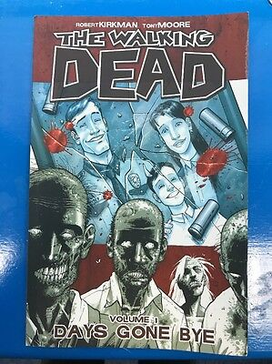 WALKING DEAD VOL #1 GRAPHIC NOVEL ZOMBIE COMIC INC ISSUES #1 2 3 4 5 6 2nd PRINT