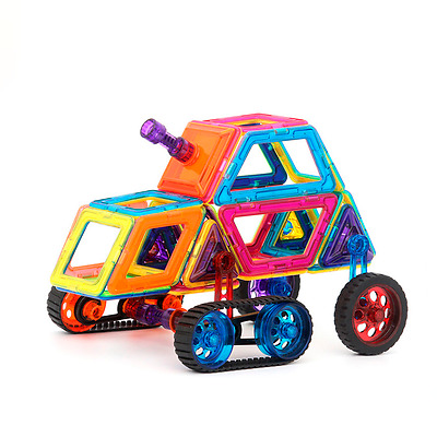New models Magformers analog Magnet Learning Toy shapes 168pc free shipping