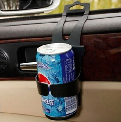 1PCS Black Universal Car Truck Door Cup Mount Beverage Drink Bottle Holder Stand