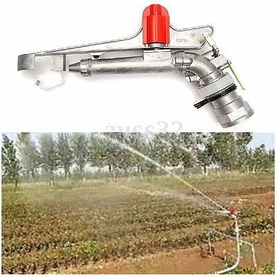 360° Adjustable Impact Sprinkler Gun Large Area Water Irrigation Spray Tool