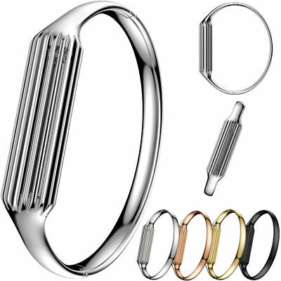 Stainless Steel Accessory Bangle Band Bracelet Strap For Fitbit Flex 2 Tracker