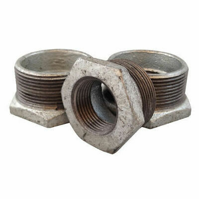 Malleable Galvanised Iron Pipe Fittings - Bulk Quantity - Clearance