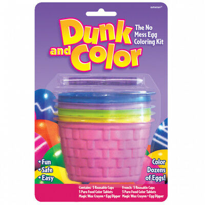 Easter Colouring Cups & Egg Dyeing Kit
