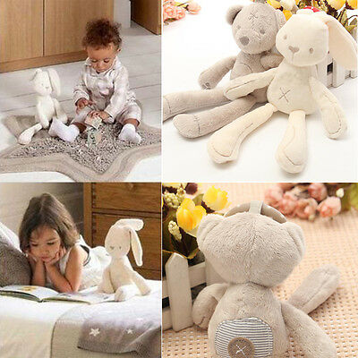 Baby Infant Bed Stroller Hanging Rattle Plush Musical Rabbit Development Toys