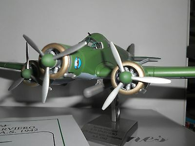 Old Planes (Old Cars) Savoia Marchetti  S79 Sparviero Scala 1/72 Die Cast Model