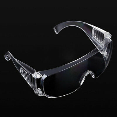 Clear Lab Eye Protection Vented Anti Fog Goggles Glasses