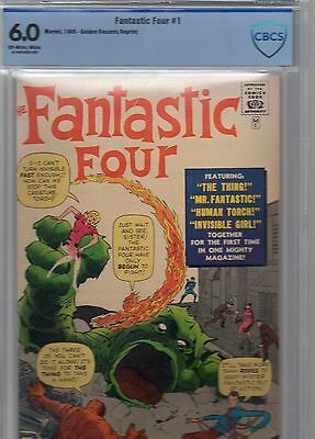 fantastic four 1 golden record issue cbcs.6.0