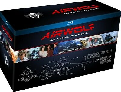 Airwolf - Die komplette Serie - 18 Blu Ray Box