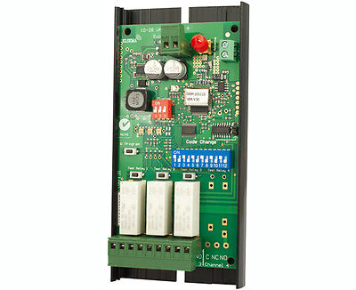 Elsema Multicode 915 – 3 Channel Wire In Receiver Mcr91503R