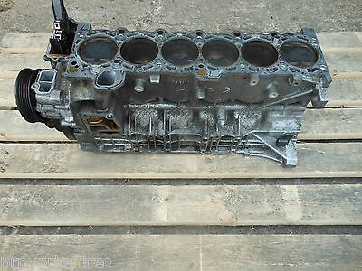 BMW 3 5 X3 Z4 M54 2.5i PETROL ENGINE BLOCK WITH CRANK GEAR AND PISTONS 7502917