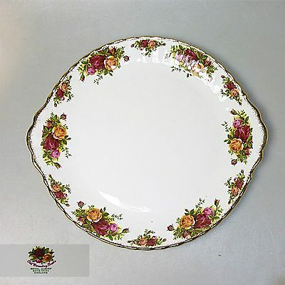"Royal Albert ""Old Country Roses"" Kuchenplatte Tortenplatte ca.29  cm"