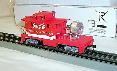 New Hawthorne Village Coca Cola Through The Year Express Holiday Train 4 Issues