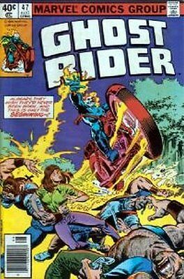Ghost Rider (Vol 1) #  47 Very Fine (VFN) Marvel Comics BRONZE AGE