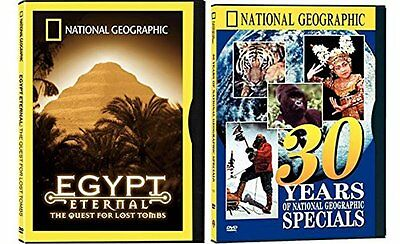NatGeo Bundle - 30 Years of National Geographic Specials & The Egypt Eternal: Th