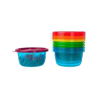 The First Years - Take & Toss Toddler Bowls with Lids - 8 oz, 6 Ct. #Y1032V4