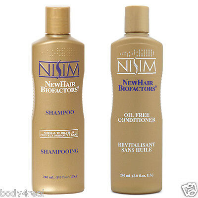 Nisim Herbal Hair Loss Treatment Shampoo Conditioner Oily Hair Scalp Men Women
