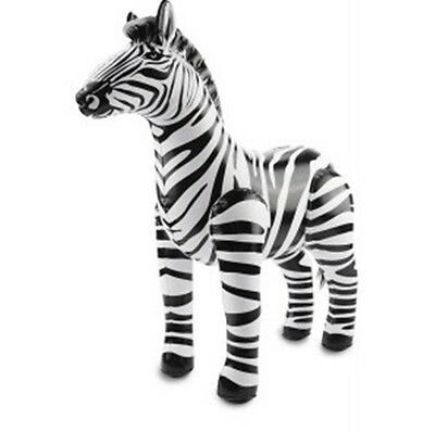 Inflatable Zebra Balloon Large Birthday Party Accessory Animal Theme