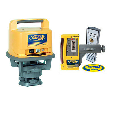 Spectra Precision LL500-10 Laser Level with CR600 Mag Mount Receiver