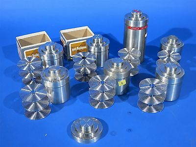 Very large lot of Stainless steel Developing Tanks with Reels NICE