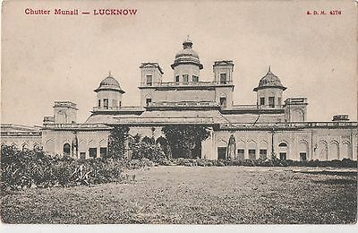 POSTCARD  INDIA  LUCKNOW  Chutter Munail