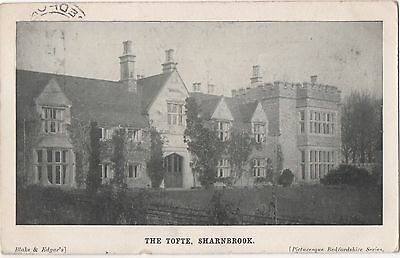POSTCARD  BEDFORDSHIRE  SHARNBROOK  The Tofte