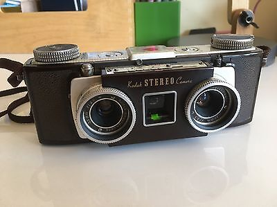 Vintage Kodak Stereo Camera. Clean! Untested.