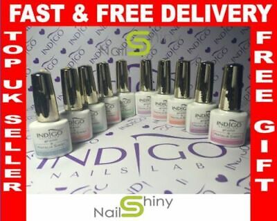 Genuine INDIGO NAILS LAB Gel Polish Hybrid 5ml, soak off UV LED + free gift
