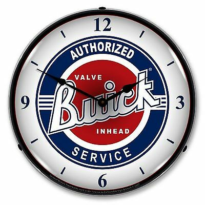 Buick Service Lighted Wall Clock