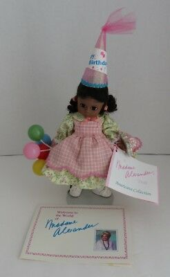 "1992 Madame Alexander 7"" Happy Birthday Americana Collection Doll     (Inv11158)"