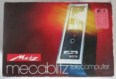 Vintage Metz Mecablitz 303 Telecomputer Camera Flash               (Inv12700R)