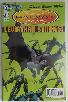 2012  Batman Incorporated Leviathan Strikes #1 One-Shot  - Nm          (Inv5471)