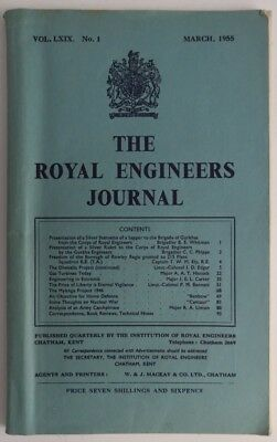 1955 Royal Engineers Journal - March  (Inv1265)
