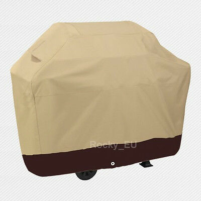 Deluxe Heavy Duty BBQ Cover Waterproof Barbecue Grill Gas Storage Garden Gift