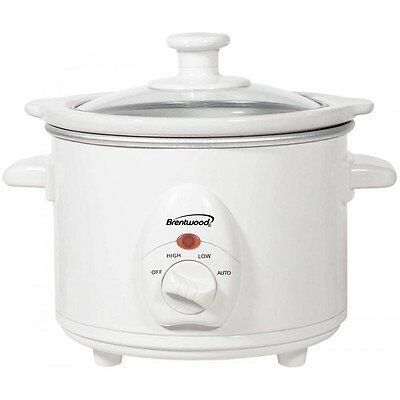 Pressure Cooker w/ 3 Heat Settings Removable Ceramic Pot 9.0L by Brentwood